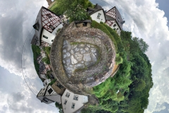 Tiny Planet_Bruecke Monreal