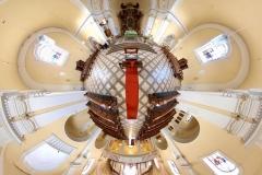 Tiny Planet_Johanneskirche Metternich