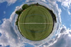 Tiny Planet_Sportplatz Koblenz Immendorf