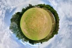 Tiny Planet_Trimbs Sportplatz
