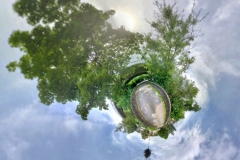 Tiny Planet_Trimbs alte Nettebruecke