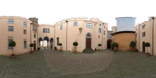 Innenhof Schloss Stolzenfels